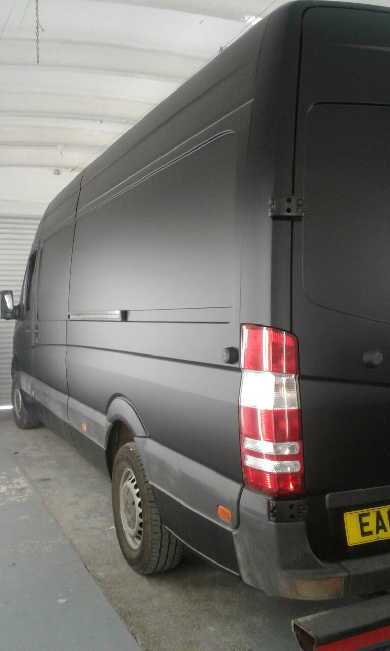 DHL Van Completed 1