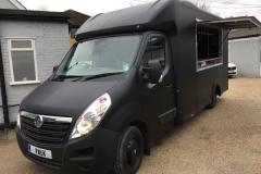 Catering Van - Matt Black 3