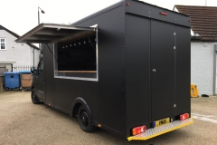Catering Van - Matt Black