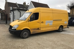 DHL Van Before 1
