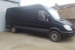DHL Van Completed
