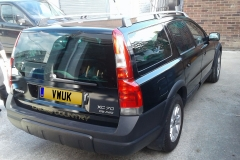 Gloss Black Volvo 1