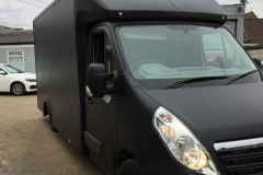 Matt Black Catering Truck