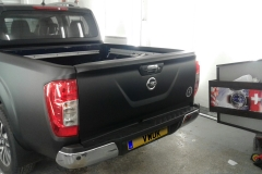 Matt Black Navara