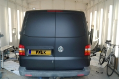 Matt Black VW Transporter 1