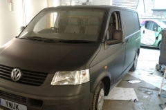 Matt Black VW Transporter 3