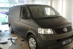 Matt Black VW Transporter