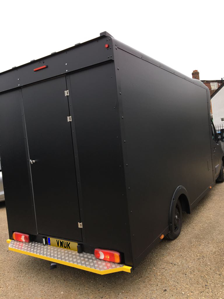 Catering Van - Matt Black 1