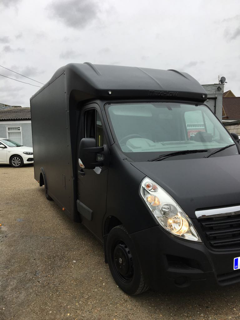 Catering Van - Matt Black 2