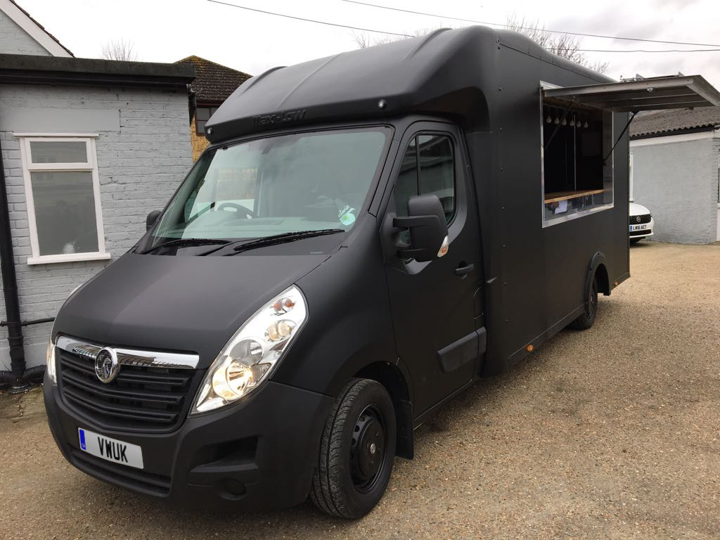 Catering Van - Matt Black 4