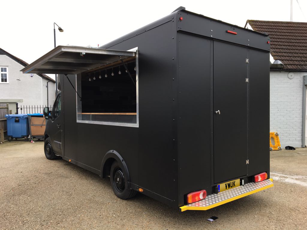 Catering Van - Matt Black