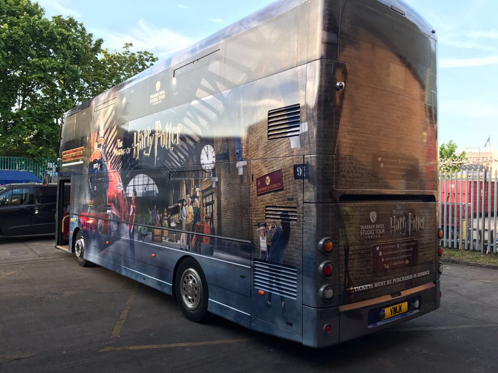 Harry Potter Bus Wrap 2