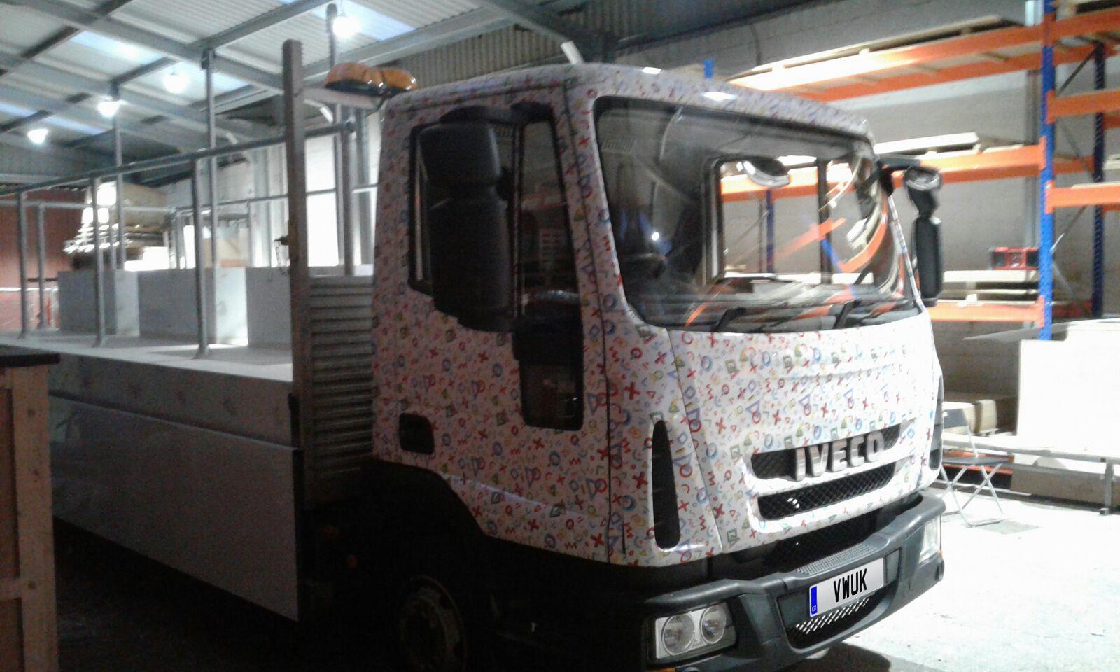 LGBT Playstation - Truck Wrap 1