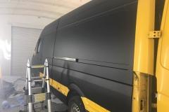 DHL Van During