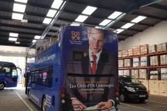 Golden Tours - Bus Wrap