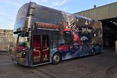 Harry Potter Bus Wrap 1