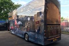 Harry Potter Bus Wrap 2