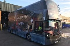 Harry Potter Bus Wrap