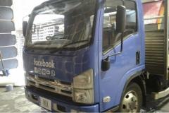 LGBT Facebook Truck Wrap