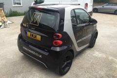 Smart Car - Sign Writing
