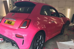 Supply and Install x2 Fiat 500's 4